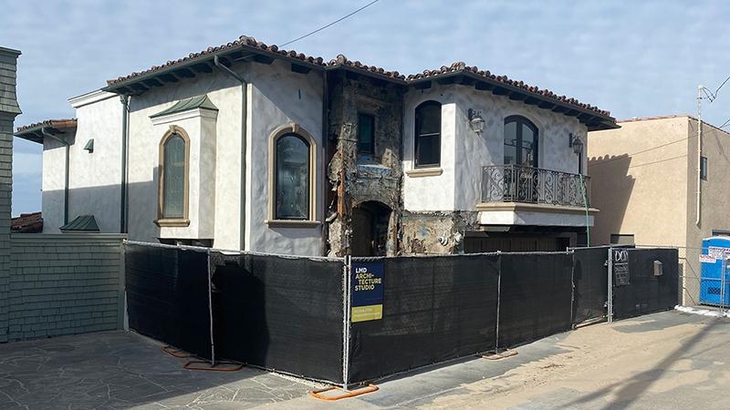 Under renovation - LMD Architecture, El Segundo, CA