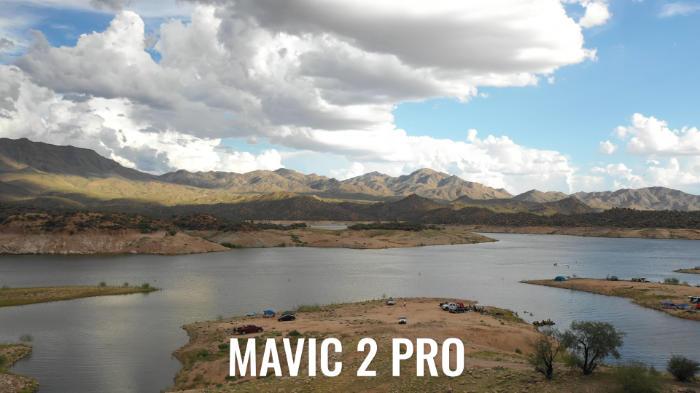 test de couleur Mavic 2 Pro