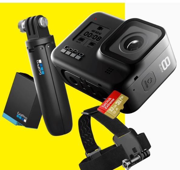 GoPro HERO8 caméra Pack