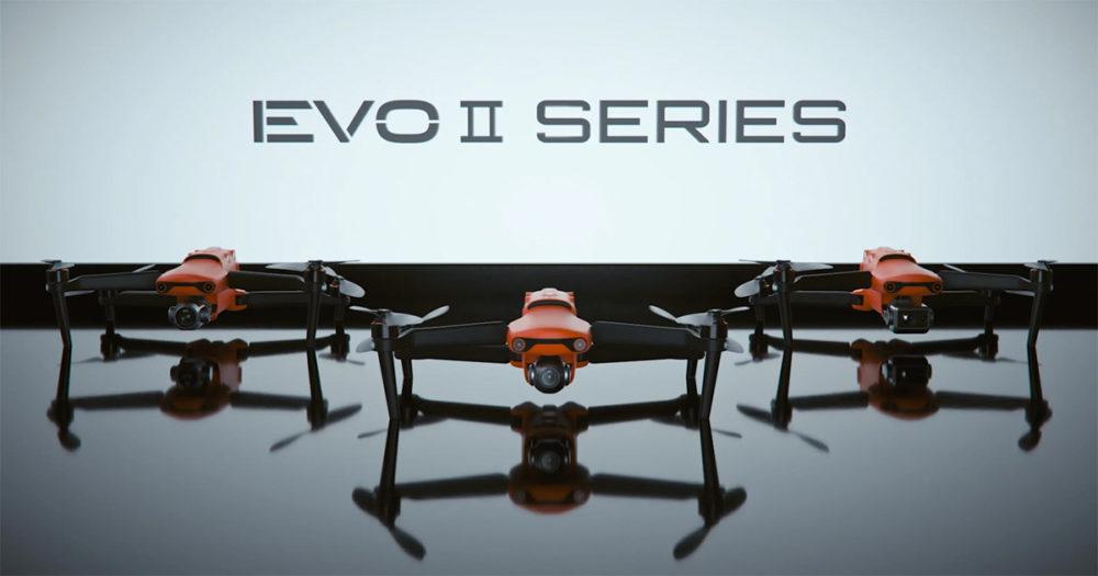 Evo ii series drone autel test avis