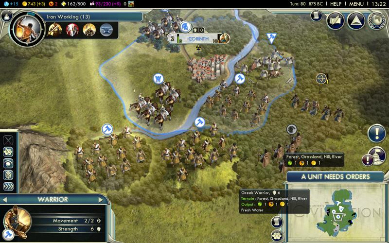 Civilization 5 - le rapport de partie (de la mort) (6/6)