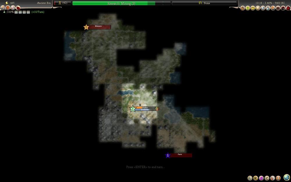 Civilization 4: Rise of Mankind - le rapport de partie (de la mort aussi) (3/6)