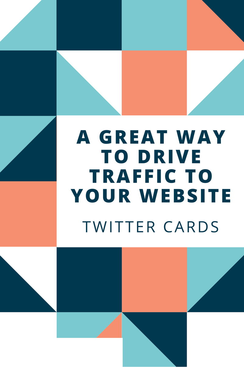 How to Use Twitter Website Cards to Drive Traffic to Your Website or Book Page?