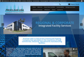 Web Design - Proclean USA