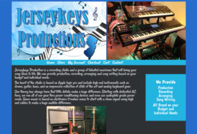 Web Design- Jersey Keys Productions