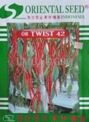 Jual benih sayuran cabe or twist 42