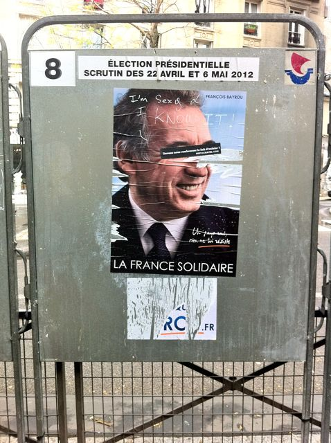 Better Know A District: Graffiti, Defacement, and the French Presidential Elections in the 20th Arrondissement of Paris (4/6)