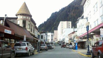Downtown Juneau, Alaska