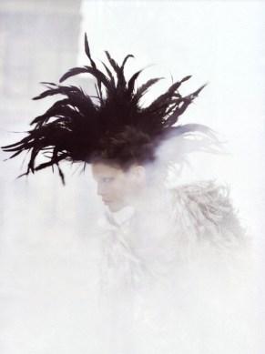 Feather Mokawk - Awesome visual!