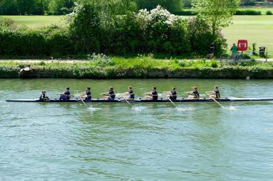 Summer Eights M2 On the water