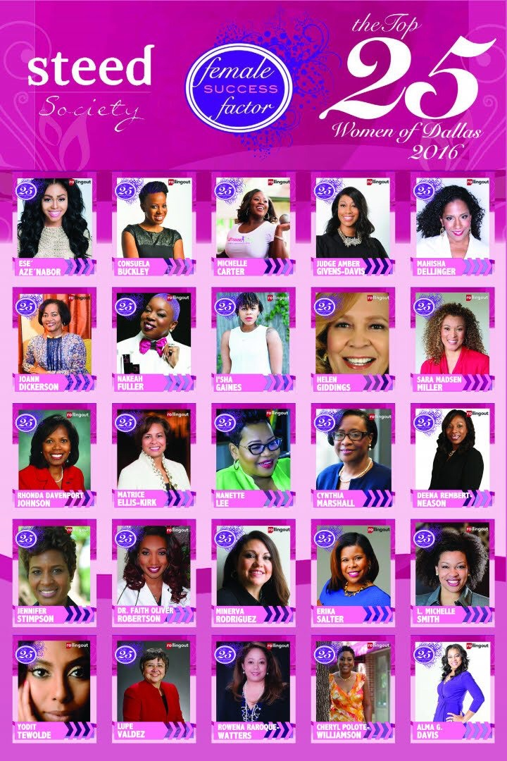 Rolling out celebrates the Top 25 Women of Dallas