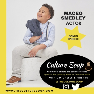 Bonus Ep 2:: A Little About Acting from a Big Talent–Maceo Smedley