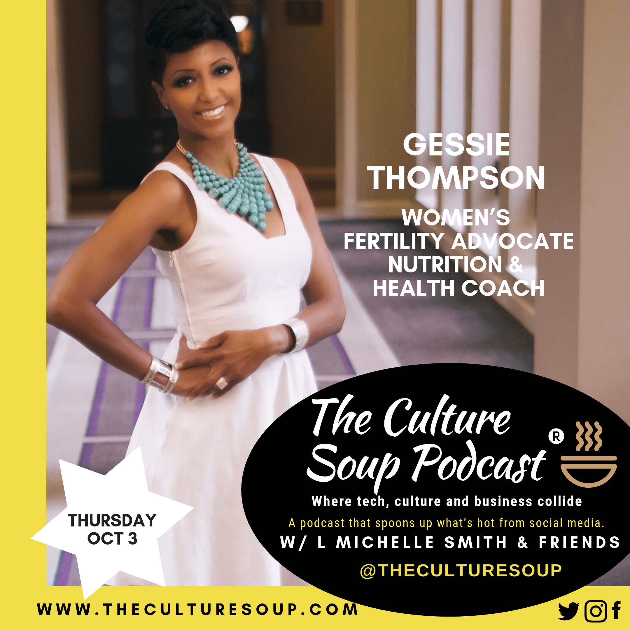 Ep 55: Using the Internet to Provide Access to Information that Can Heal You with Coach Gessie Thompson