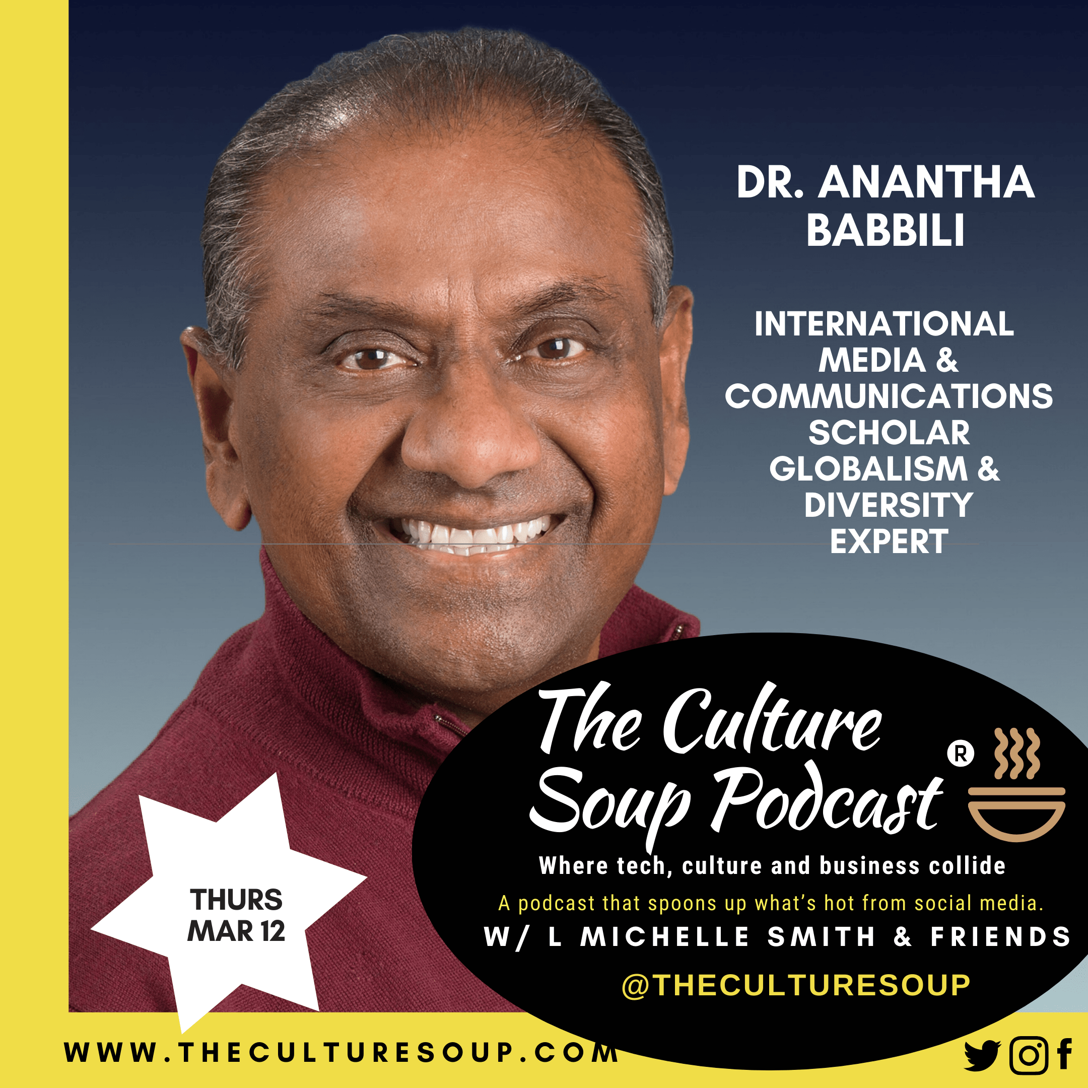 Ep 86: Coronavirus, Globalism and A Brand New World with Dr. Anantha Babbili