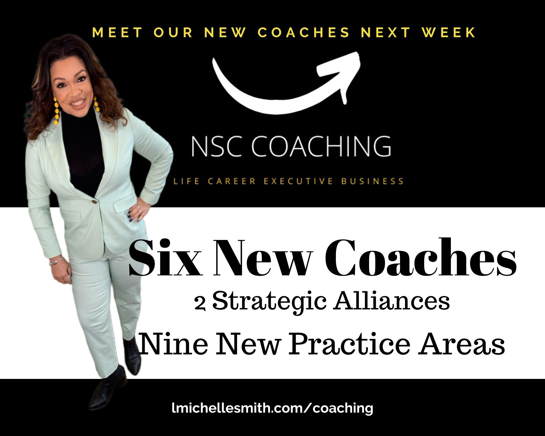 Psst…Meet Our New Coaches Next Week