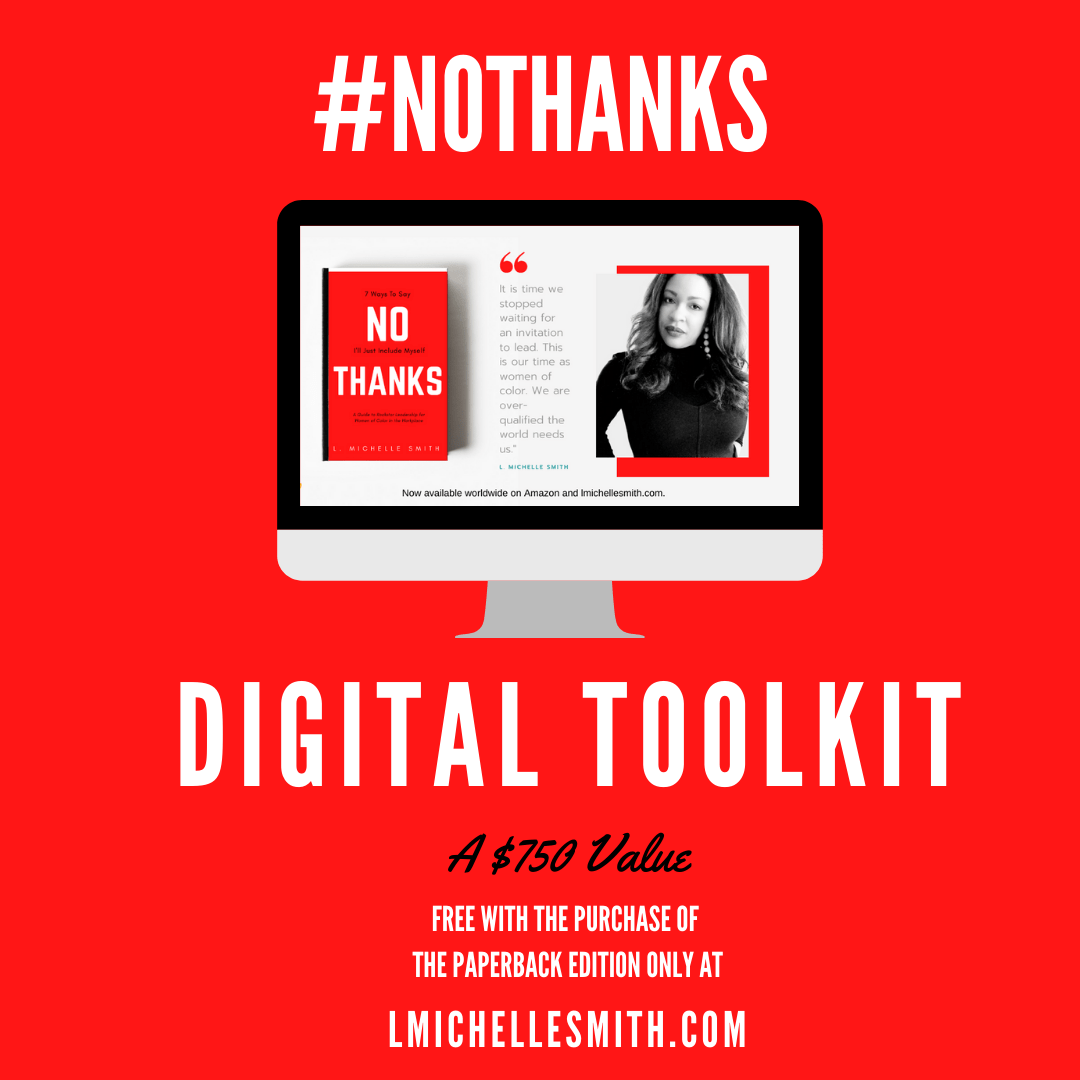Receive a FREE #NoThanks Digital Tool Kit with Purchase of No Thanks Paperback