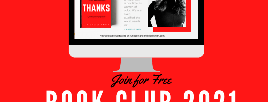 Join the #NoThanks Book Club 2021 for FREE