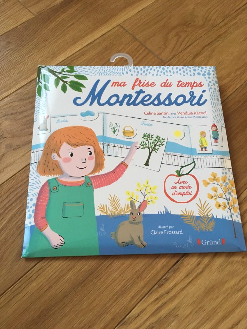 Ma Frise Du Temps Montessori : frise, temps, montessori, Frise, Temps, (Gründ), Mercredis, Jolis, -Blog