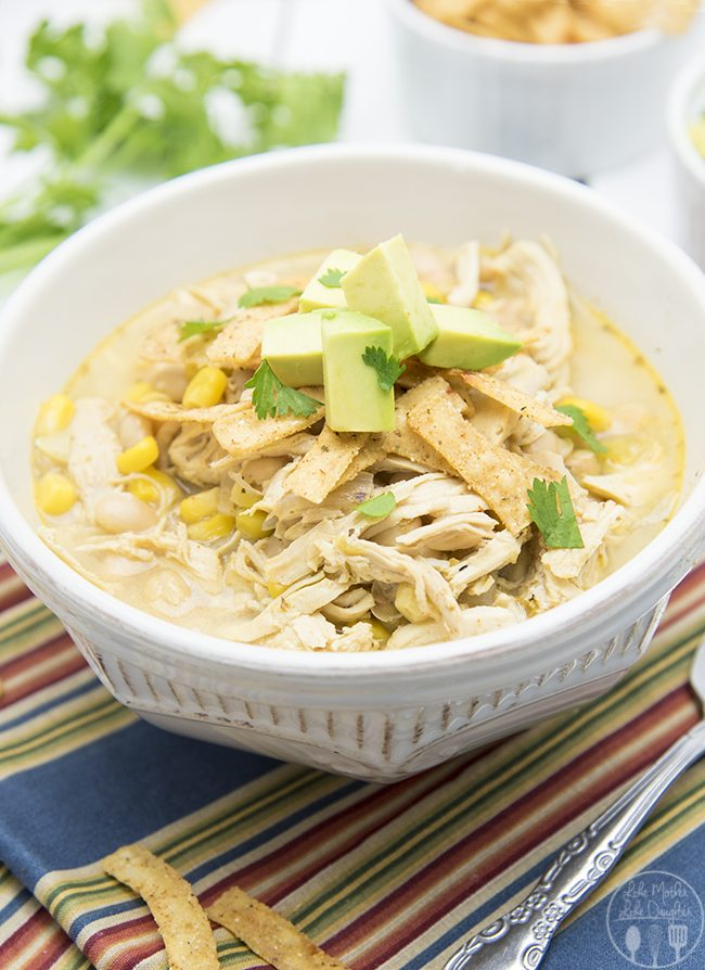 shredded chicken chili recipe