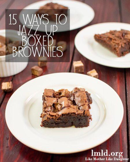 15 ways brownies