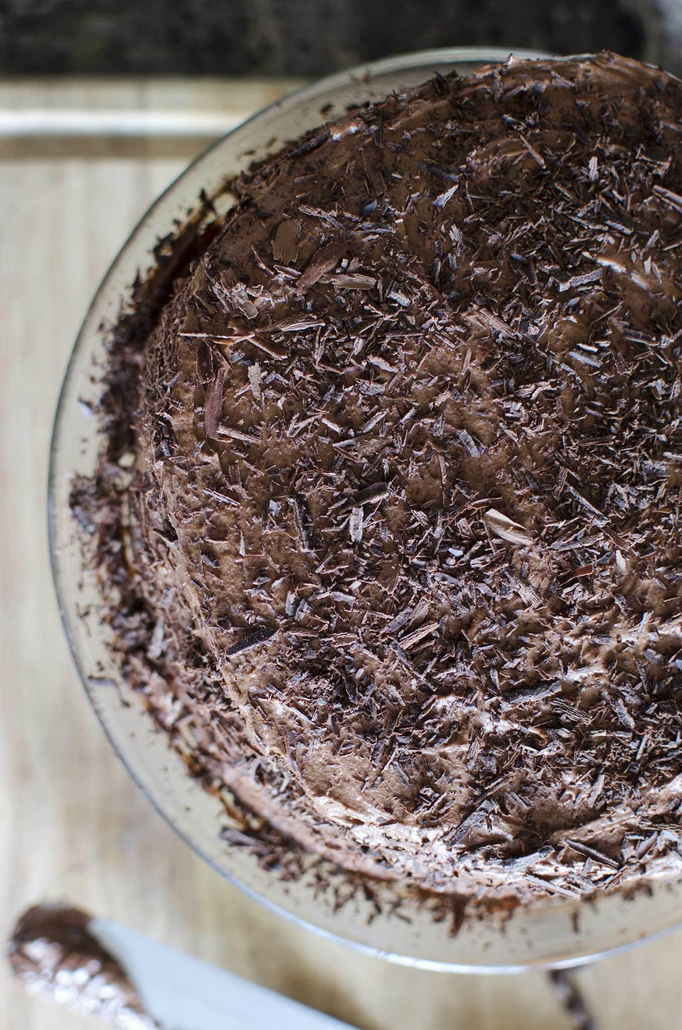 Triple Chocolate Layer Cake – Like Mother, Like Daughter