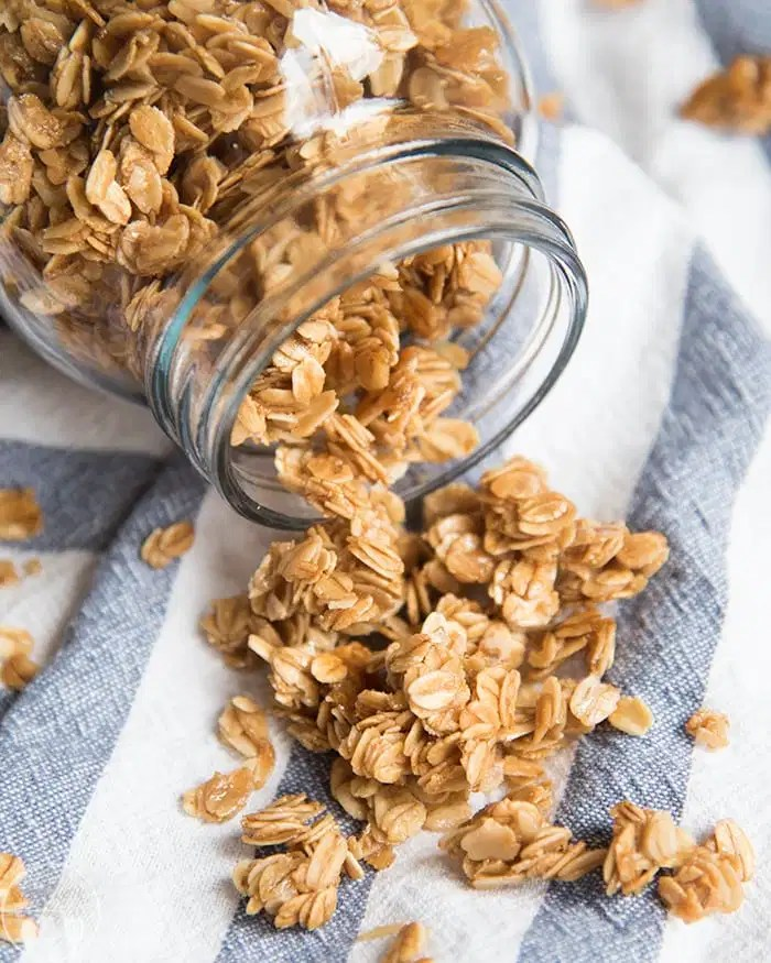 The perfect granola, great with milk, fruit, or eaten by the handful.