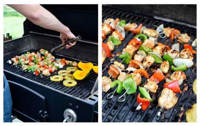 kebab collage