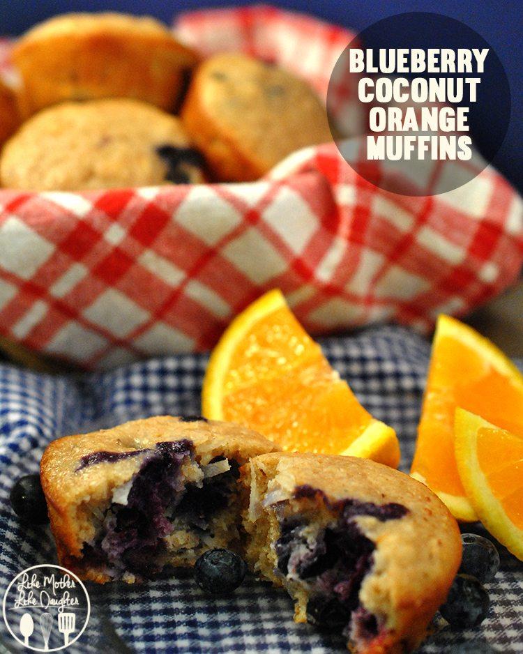 Blueberry Coconut Orange Muffins1