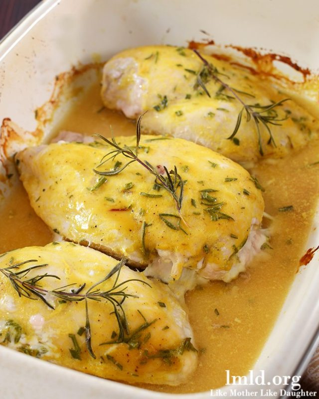 Rosemary Mustard Chicken