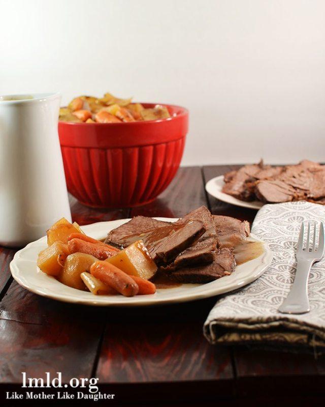 Tavern Style Crock Pot Beef Roast
