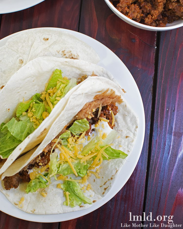 Easy Ground Beef Tacos