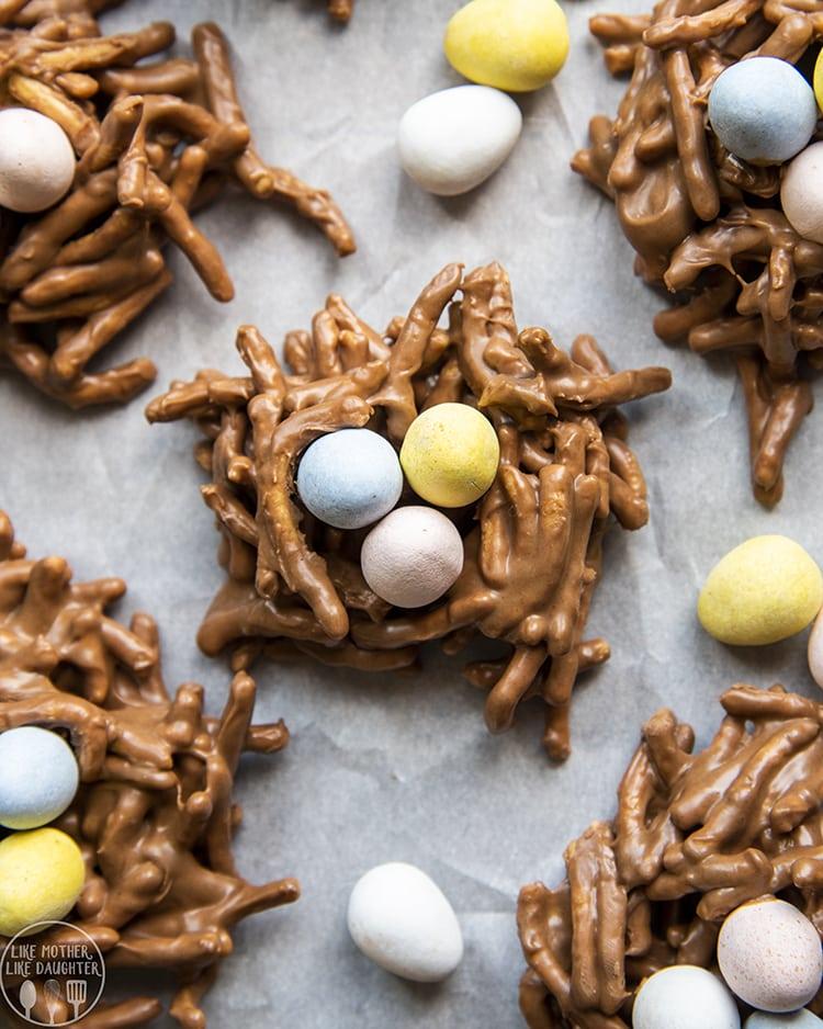 Easter Egg Chow Mein Chookies