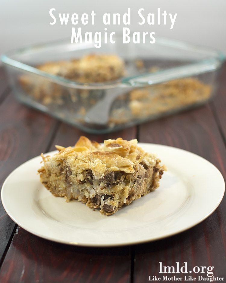 Sweet and Salty Magic Bars