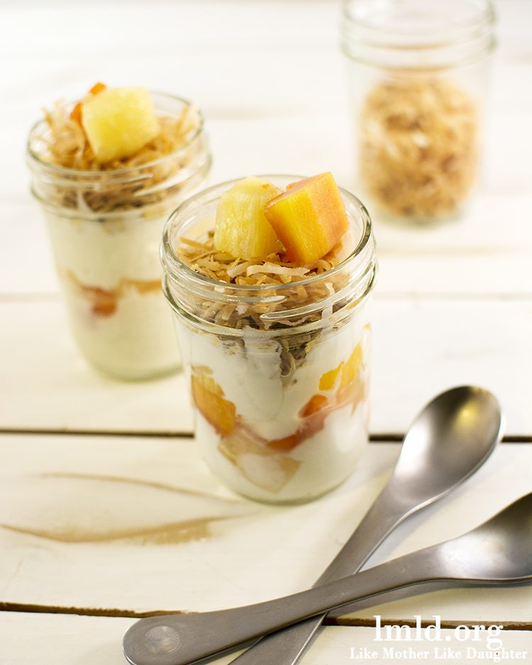 Tropical Dole Fruit Parfaits3
