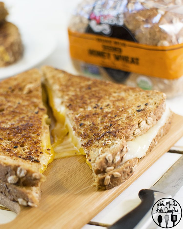 Garlic Butter Grilled Cheese 2