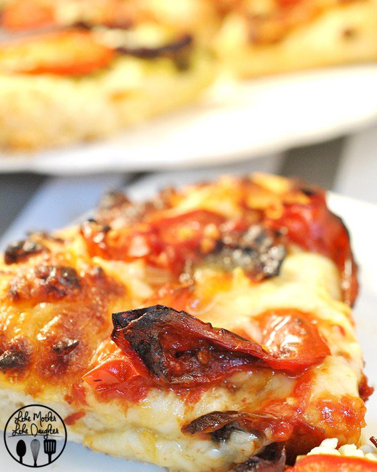 roasted tomato mini pizzas2