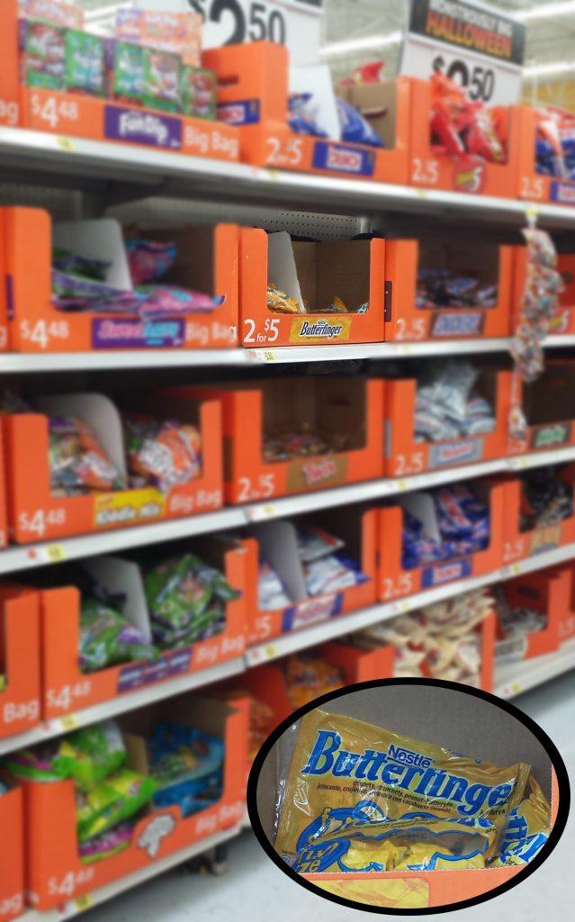 butterfinger aisle