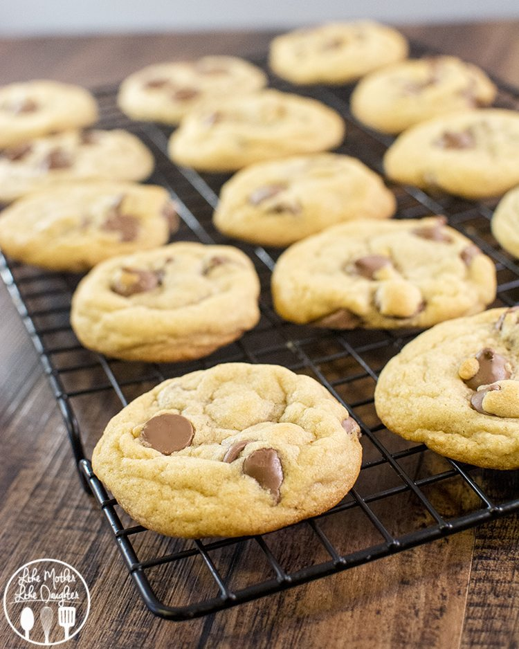 My Favorite Chocolate Chip Cookies ever! - these chocolate chip cookies are fail proof, after a few failed batches I've found the best recipe ever. So delicious, chewy, chocolatey and perfect!