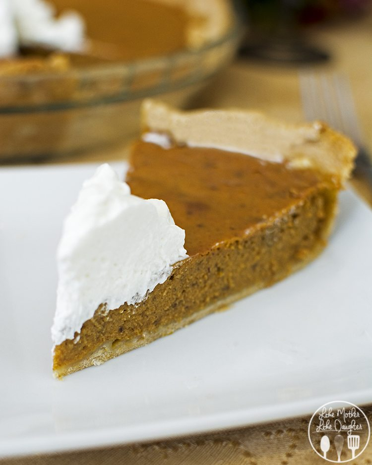 Pumpkin Pie - This is the best pumpkin pie, its got the perfect amount of flavor, a great texture and is easy to make! I promise you'll love it!