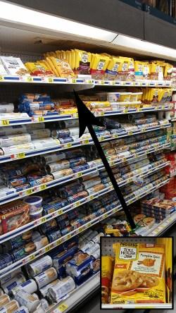 pumpkin spice aisle