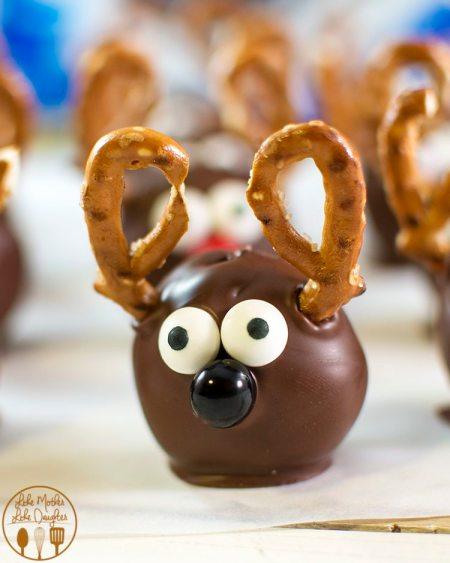 reindeer oreo balls 2