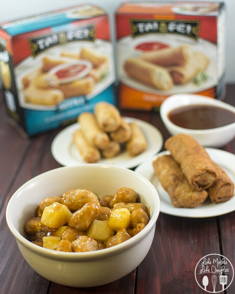 his delicious sweet and sour sauce is perfect for dipping Tai Pei Egg Rolls and Spring Rolls into - great for serving at a holiday party too!