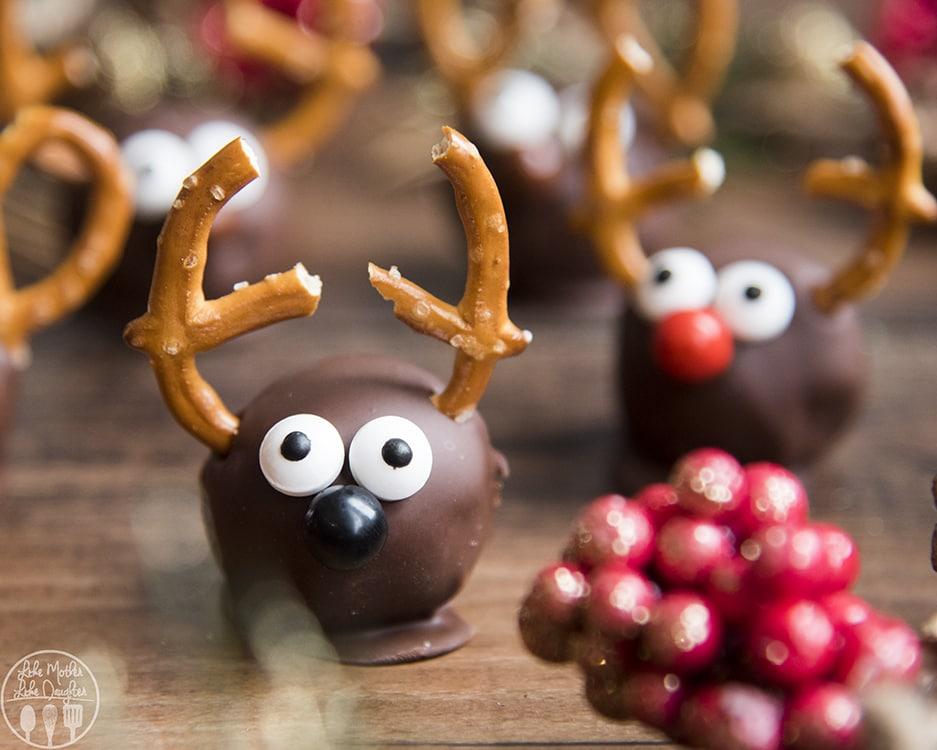 Reindeer Oreo Balls Recipe