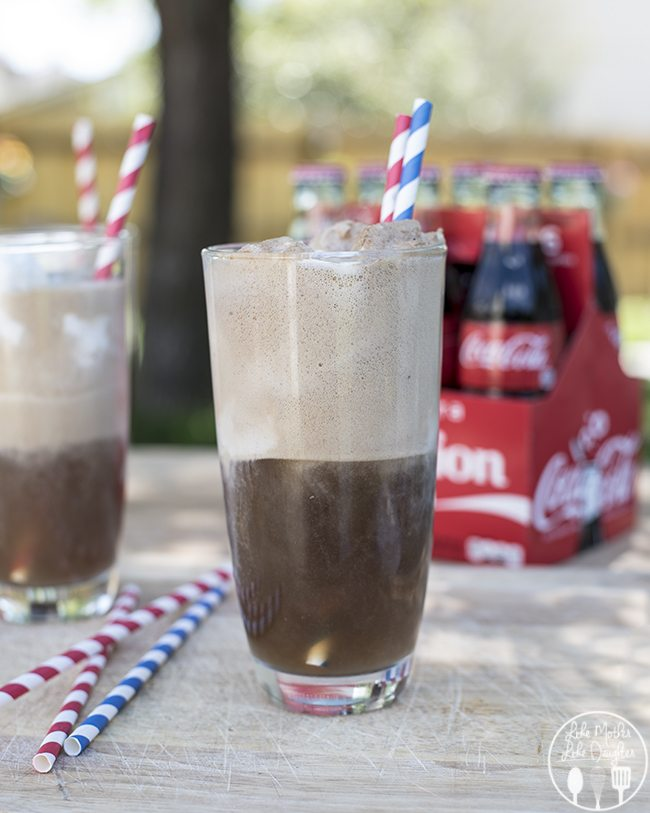Coke Floats - These cool and refreshing coke floats are the perfect summertime treat or drink. The creamy vanilla ice cream combines perfectly with the refreshing and cool coke! And you can make them even more fun with personalized share a coke bottles!