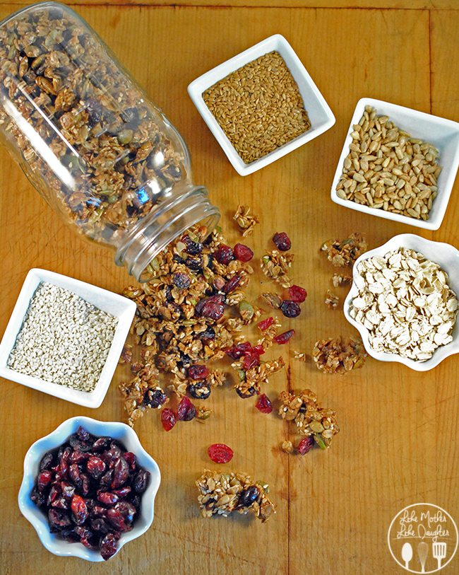 nut and seed granola 1