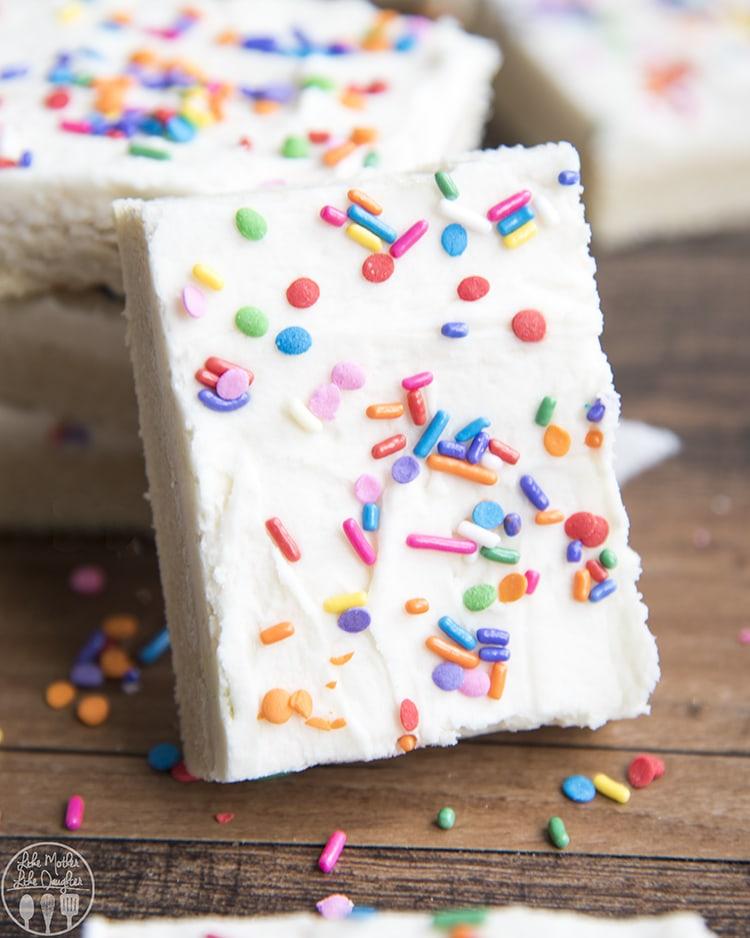 Sugar Cookie Bars Recipe