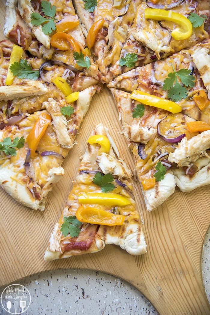 chicken fajita pizza 7