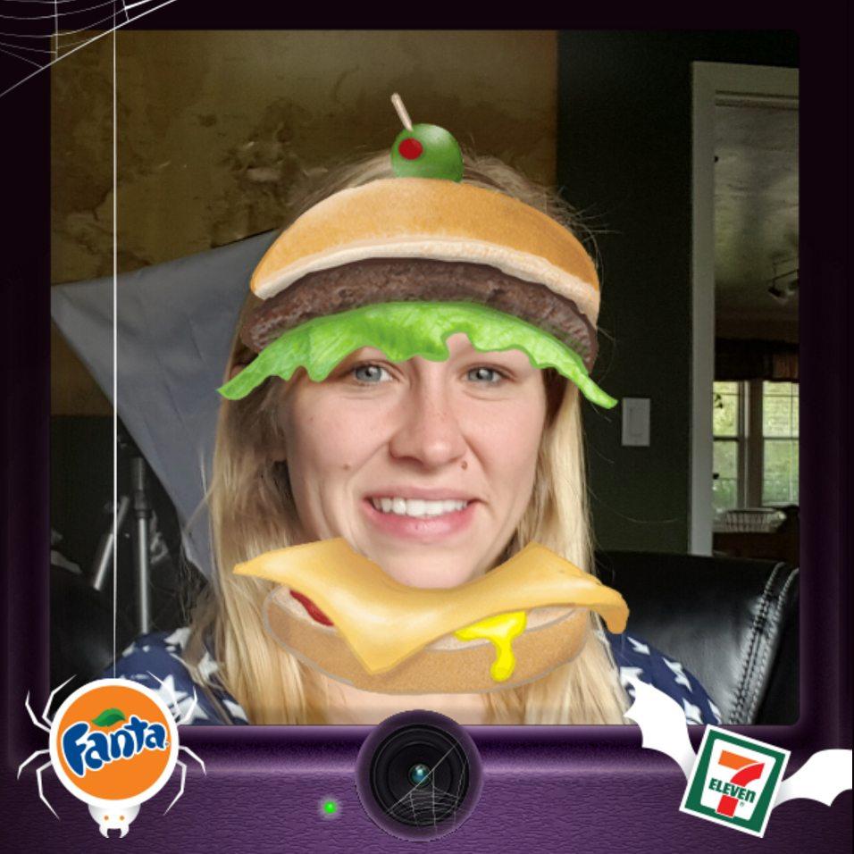 fanta hamburger