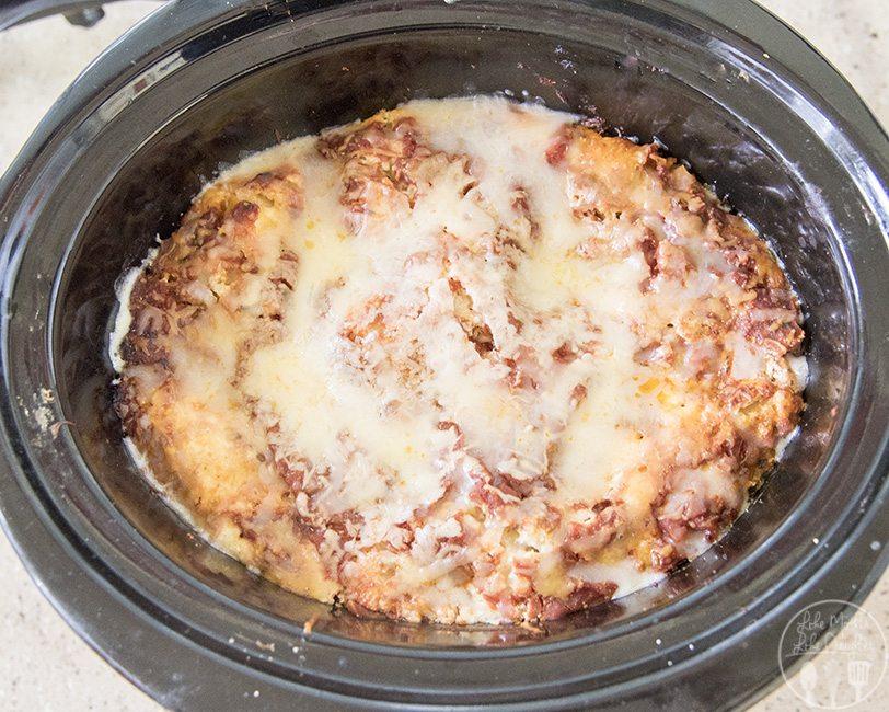 slow cooker lasagna 4