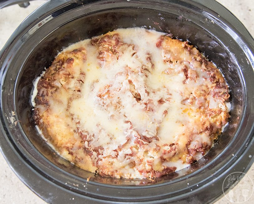 slow cooker lasagna 4